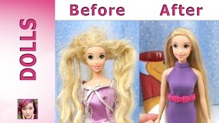 Rapunzel's Makeover - Hair Repair and New Dress
