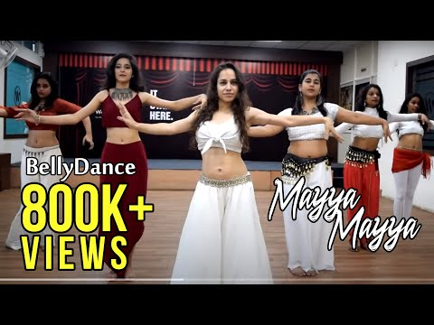 Mayya Mayya | Belly dance workshop choreography by Ojasvi Verma видео