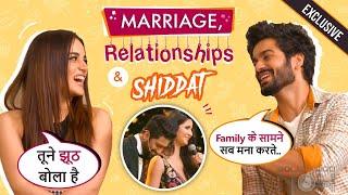 Radhika Madan &Sunny Kaushal On Katrina,Vicky's Marriage, Relationships And More |Shiddat|Exclusive