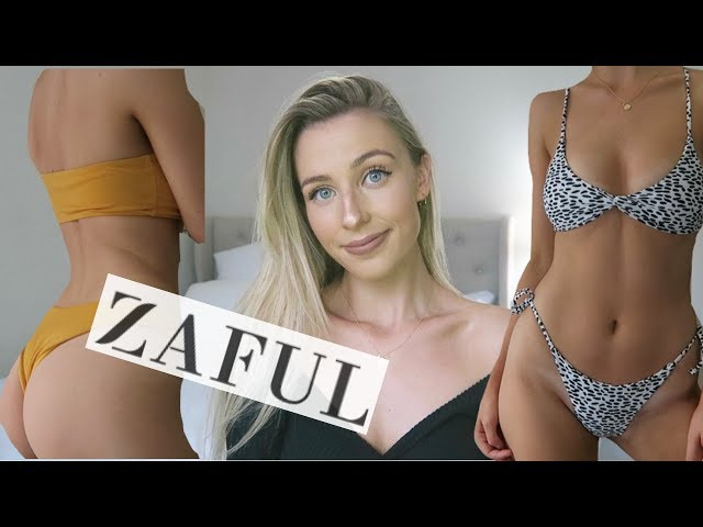 22de77a0a23 PROBABLY MY BIGGEST ZAFUL BIKINI TRY ON HAUL
