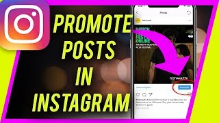 How to Use Instagram Promote Button (Grow with ads inside Instagram)