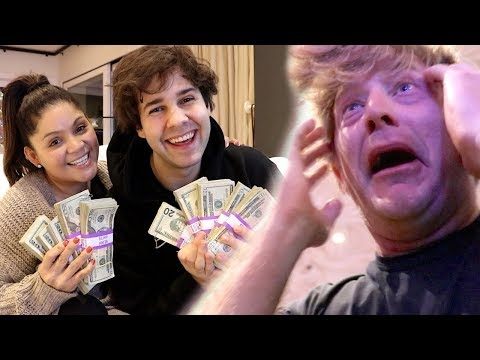WE SPENT HIS $10,000 IN 2 HOURS!! (SURPRISE) (видео)