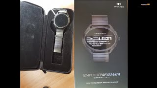 HOW TO CONNECT ARMANI SMART WATCH TO SMART PHONE