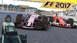 Гран-при России - Сочи Автодром - F1 2017 Force India F1 - руль Fanatec ClubSport Formula