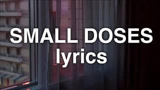 Bebe Rexha - Small Doses (Lyrics)