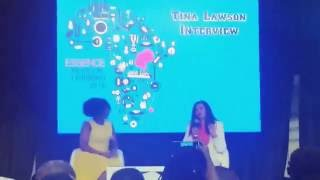 Tina Knowles Lawson  Pt 2: Discusses Her Mother - Essence Festival (Beyonce Mom)