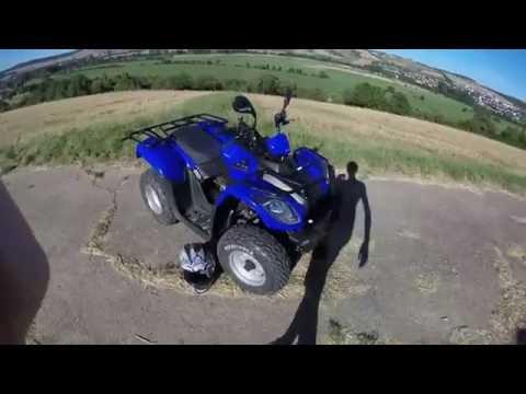Kymco MXU 50 / Einführung / Einleitung / Beschleunigung / Bremsen / Fahrverhalten