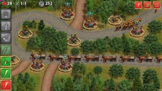 Defense of Roman Britain Gameplay (No commentary, Strategy, PC game)