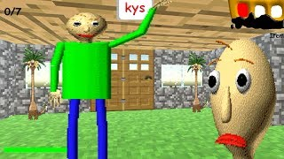 MINECRAFT MODE! Baldi