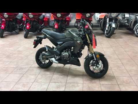 2018 Kawasaki Z125 Pro in Murrieta, California