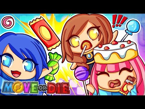 Eat all the candy or else... MOVE or DIE! (видео)