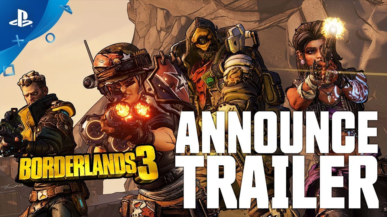 Borderlands 3 Hits PS4 September 13, Watch the New Gameplay Trailer