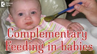 How do you start complementary feeding? - Dr. Amit Jayasingrao Nigade