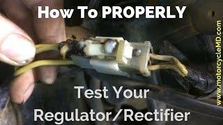 How to test a regulator/rectifier