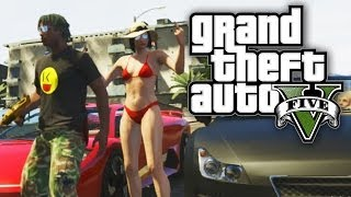 GTA 5 THUG LIFE #60 - IN THE STREETS WITH SSSNIPERWOLF! (GTA V Online)