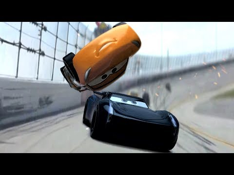 Cars 3 Final Race Flip Scene Remake