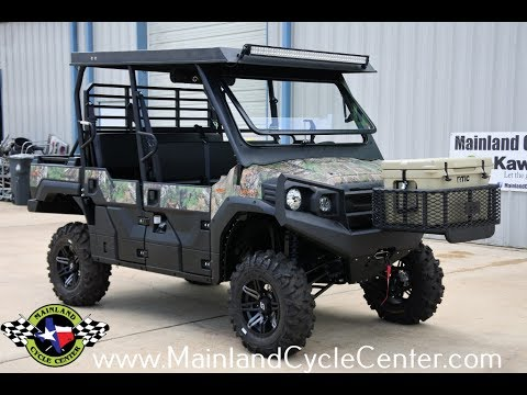 2017 Kawasaki Mule PRO-FXT EPS Camo in La Marque, Texas - Video 1