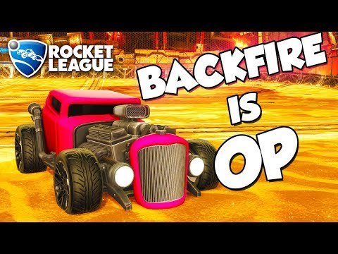 Backfire is OP | Rocket League Montage