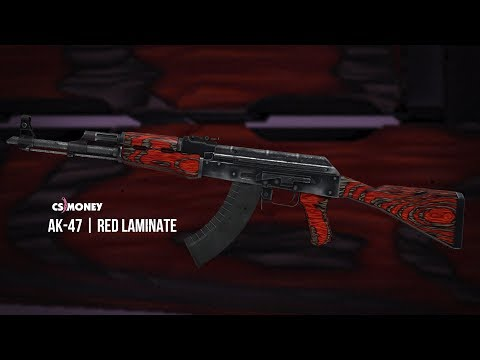 Red Laminate AK47 Game Play Video