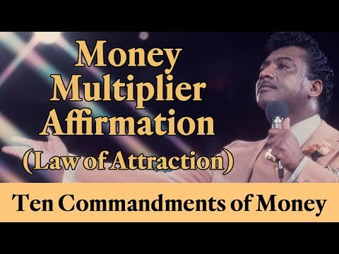 Rev. Ike's MONEY MULTIPLIER Affirmation (Law of Attraction)