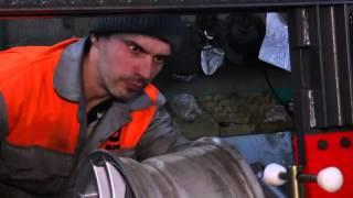 """Станок для рихтовки всех типов дисков """"Сириус-М""""(электропривод гидростанции) от компании АвтоСпец - видео"""