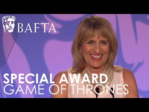 BAFTA Chair Jane Lush Introduces Special Award for Game of Thrones | BAFTA TV Craft Awards 2018