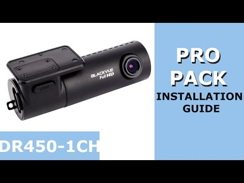 BlackVue DR450-1CH and Power Magic Pro Installation