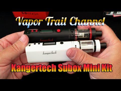 Набор: боксмод Kanger Subox Mini 50W (вариватт) - видео 5