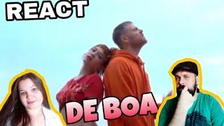REAGINDO: DAVI FT JADE BARALDO   DE BOA (CLIPE REACT)