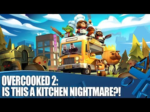 Overcooked 2 – Is this a Kitchen Nightmare?!