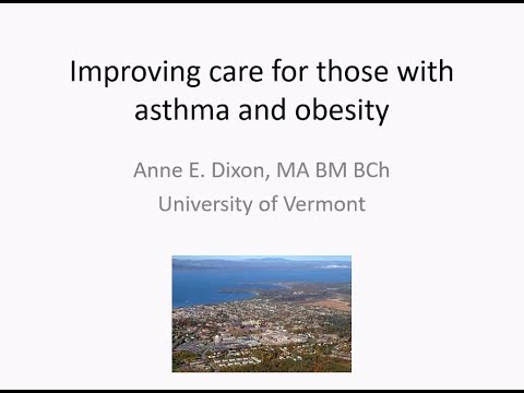 Grand Rounds: Improving Care for Those with Asthma and Obesity - June 27, 2019