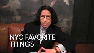 Fran Lebowitz's Favorite New York Things