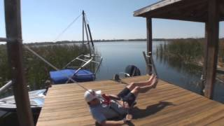 HOW TO TUMBLETURN WHILE BAREFOOT WATERSKIING