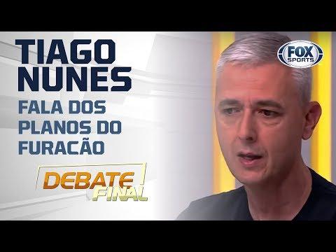 O Athletico-PR é um dos gigantes do futebol brasileiro? Tiago Nunes fala dos planos do Furacão