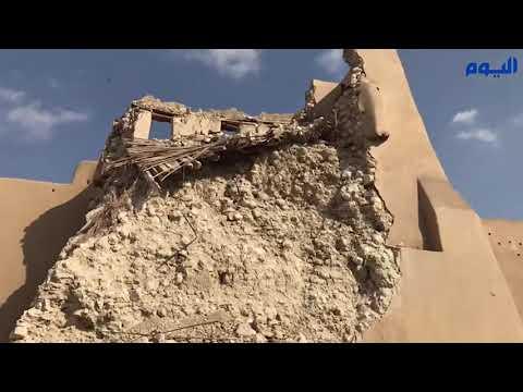 الأحساء .. لا إصابات جراء انهيار سور قصر صاهود