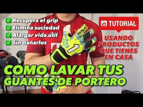 LIMPIEZA GUANTES DE PORTERO | RECUPERA EL GRIP Y ALARGA SU VIDA UTIL |