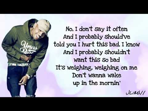 Chris Brown - Undecided (Lyrics) - JLiME11