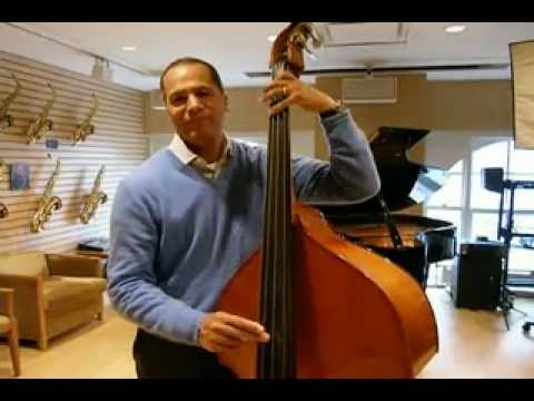 Lester Holt Playing Bass
