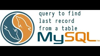 Sql Query : write a query to fetch last record from a table?