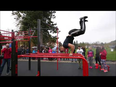 Otevření Workout parku Čeladná 2018