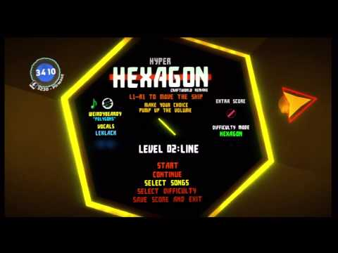 Super Hexagon Recreated In LittleBigPlanet 2