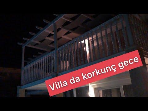 Villada korkulu gece ( gerçek yaşandı )