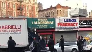 A nigga damn there gets but ass on lenox  near 112th street