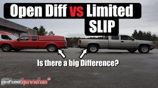 Open Differential vs Limited Slip Differential (Yukon DuraGrip POSI Traction) | AnthonyJ350
