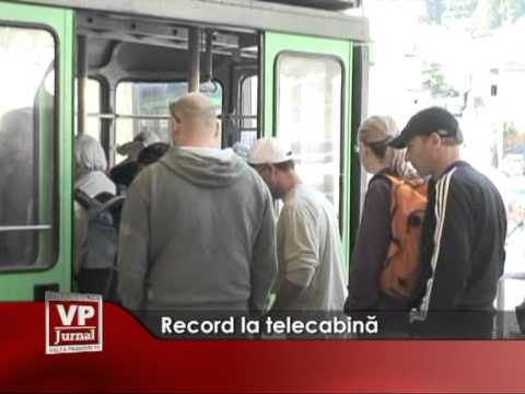 Record la telecabină