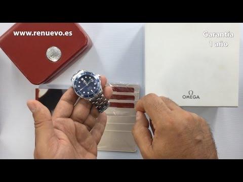 Consejos para comprar un reloj OMEGA SEAMASTER de segunda mano