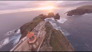 """Long Range FPV Drone Flight to """"Farol da Ponta de São Lourenço"""", Madeira"""