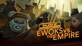 Episode 1.35 Ewoks contre l'Empire, petits mais féroces (VO)
