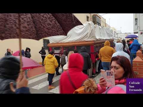 Tres Caídas desafía a la lluvia y realiza su ensayo solidario