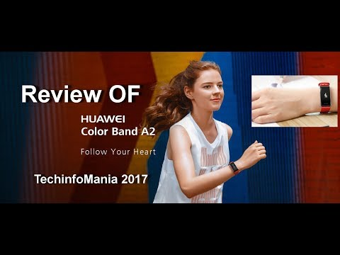 Review Huawei Color Band A2
